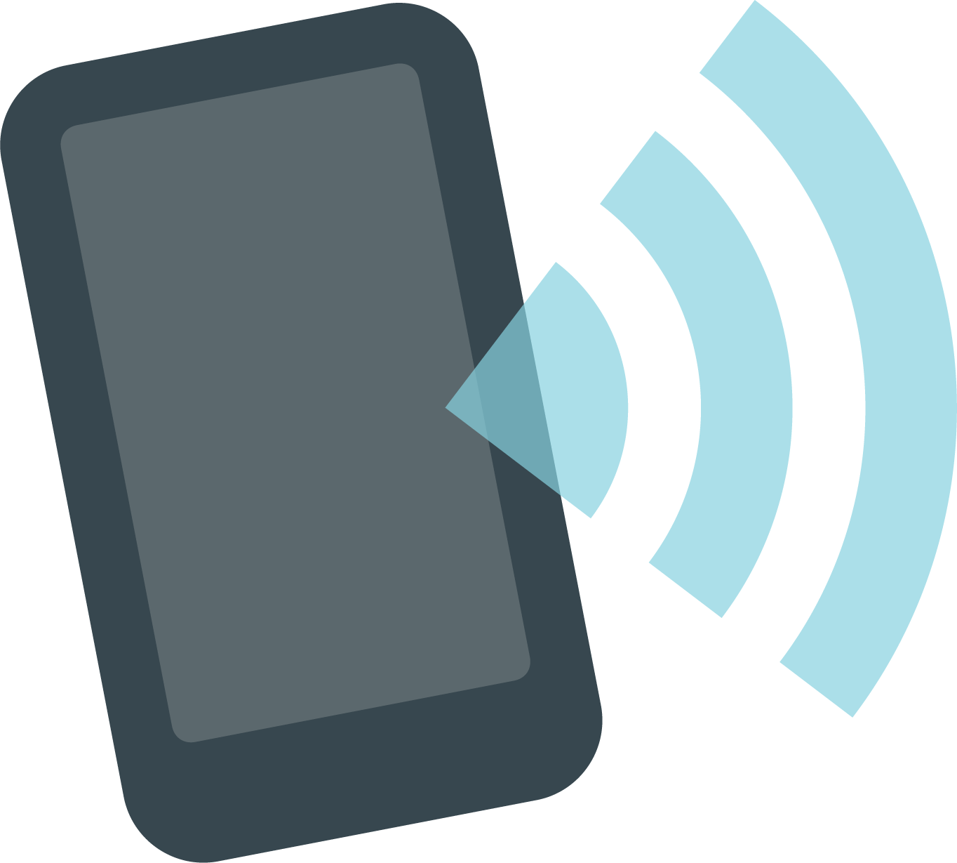 Icon showing phone data